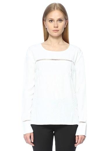 Chloé Bluz Beyaz